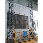 10m poháňaná hliníková laná zavesená plošina zlp1000 jednofázová 2 * 2.2kw