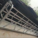 zlp630 / 800 ll tvar hliníkovej zliatiny, oceľová konštrukcia zavesená pracovná plošina výťah na okná budovy