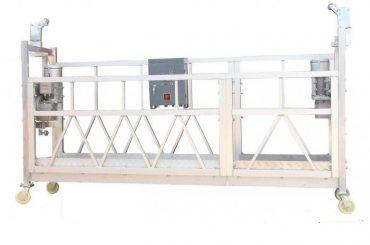 380v / 220v / 415v vysoko účinná čistiaca plošina na okná zlp800 jednofázová