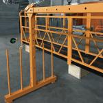 jednofázová zavesená lanová plošina 800 kg 1,8 kw, rýchlosť zdvihu 8-10 m / min